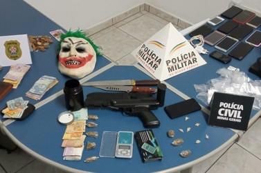 Operação policial apreende onze pessoas por tráfico de drogas em Andradas