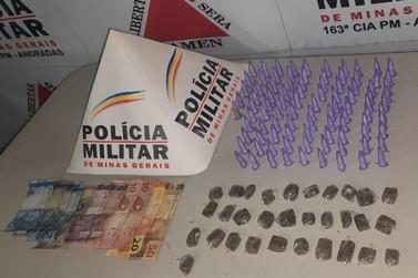 PM prende traficantes com cocaína e maconha em Andradas