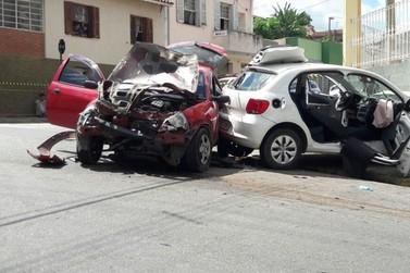 Adolescente de 13 anos causa acidente de carro em Bragança