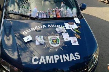 GM detém grupo que iria levar drogas para festa em Bragança