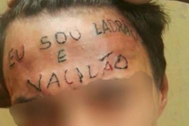Jovem que foi tatuado na testa é detido por furto em Mairiporã