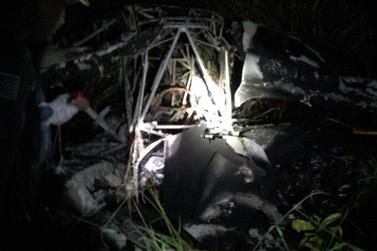 Queda de aeronave deixa dois feridos na zona rural de Bragança
