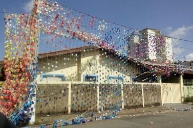 Balão cai sobre casas assustando moradores em Atibaia