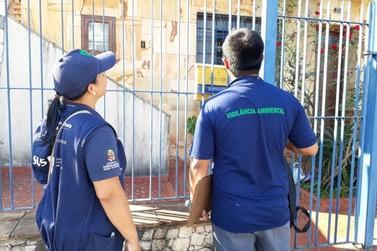 Continua em Atibaia busca de focos de reprodução do  Aedes aegypti