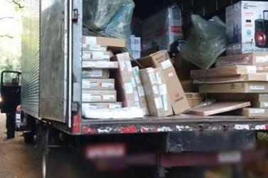 PRF prende ladrão de carga na Rodovia Fernão Dias