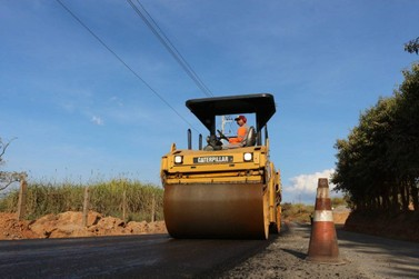 Atibaia: Estrada da Usina está 100% asfaltada