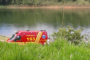 Bombeiros buscam desaparecido na represa de Nazaré