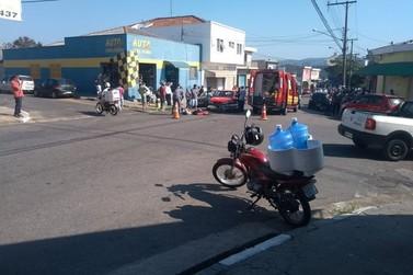 Grave acidente acontece em Cruzamento no Alvinópolis em Atibaia