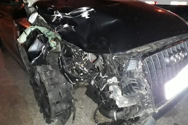 Jogador de futebol mata atropelado ciclista no acostamento da Fernão Dias