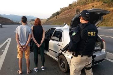 Casal é preso com cocaína na rodovia Fernão Dias