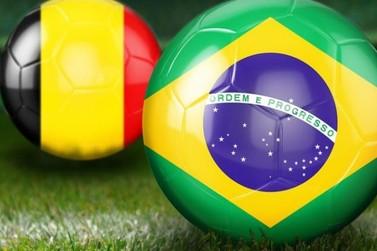Jogo Brasil X Bélgica será transmitido na Praça da Matriz em Atibaia