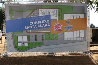 Prefeitura de Atibaia dá início às obras do Complexo Santa Clara no Caetetuba