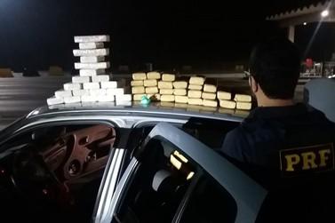 Casal é preso com mais de 40 quilos de drogas na Fernão Dias