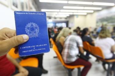 Região fecha 130 postos de trabalho com carteira assinada em julho