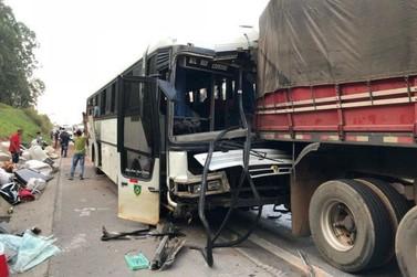 Sete pessoas ficaram feridas em um acidente na Fernão Dias em Atibaia
