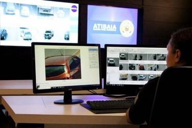 Muralha Digital: Guarda Civil recupera veículo furtado em Atibaia