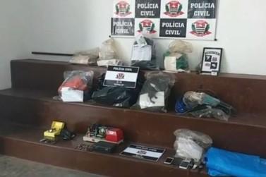 Polícia Civil prende suspeitos de furtarem casas lotéricas no interior