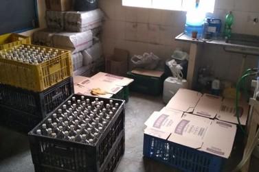 Quatro são presos em laboratório clandestino de falsificação de bebidas