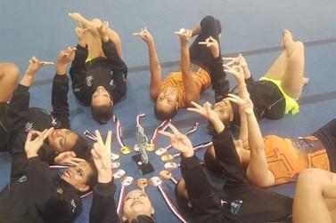 Atibaia ganha prata em Ginástica Rítmica feminino nos Jogos Abertos