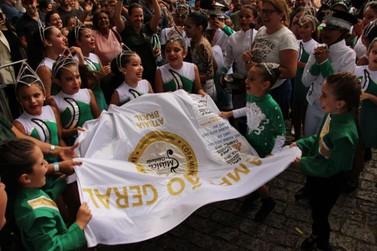 Escola Guilherme Contesini é campeã geral da Copinha de Fanfarras de Atibaia