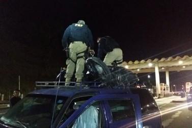 Homem é preso por receptação de moto furtada na Fernão Dias