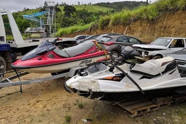 Homem morre em acidente com moto aquática na represa em Nazaré