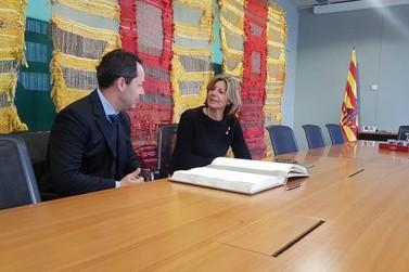 Missão de Atibaia na Europa apresenta qualidades do município a empresários