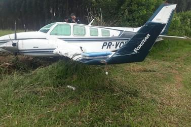 Após acidente no pouso de avião, 5 suspeitos de associação ao tráfico são presos