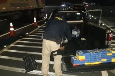 Jovem é preso com 45 quilos de cocaína na Fernão Dias