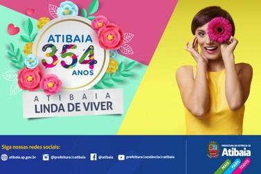 Atibaia inicia programação do aniversário de 354 anos