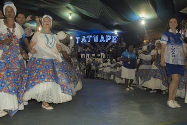 """Escola de Samba Acadêmicos do Tatuapé realiza """"Encontro de Pavilhões"""" em Atibaia"""