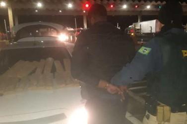 Motorista é preso na Fernão Dias com 19Kg de maconha