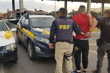 Homem é preso com 1,6 quilo de cocaína na Fernão Dias