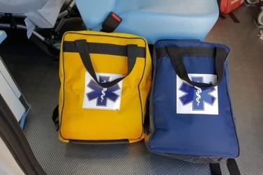 Ambulância tem equipamentos furtados durante atendimento a idosa em Atibaia