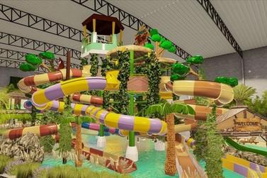 Tauá inaugura parque aquático para o Dia das Crianças em Atibaia
