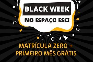 Aproveite a Black Week do Espaço Esc e garanta seu inglês para 2020 em Atibaia!