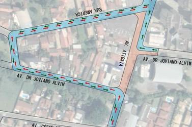 Avenida Atibaia terá desvio no trânsito entre os dias 18 e 29 de novembro