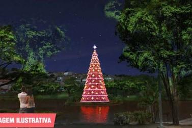 Decoração Natalina: Iluminação do Lago do Major será inaugurada no dia 30
