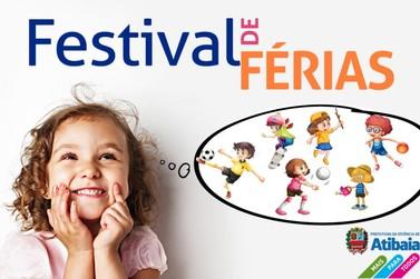 Prefeitura de Atibaia promove 9ª edição do Festival de Férias