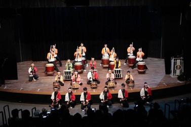 I Encontro Nacional de Taiko ofereceu apresentações especiais na Cidade