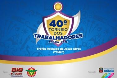 Prefeitura abre inscrições para 40º Torneio dos Trabalhadores de Atibaia