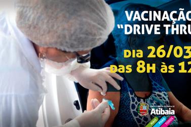 Prefeitura realiza drive-thru de vacinação contra a Influenza para idosos