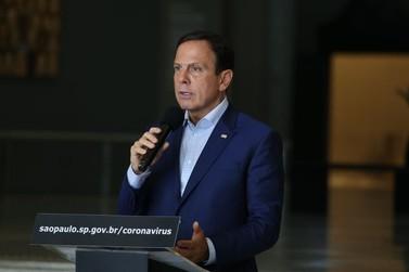 Doria prorroga quarentena no estado de SP até 10 de maio