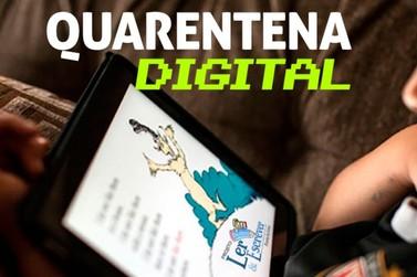 Quarentena Literária disponibiliza acervo virtual a alunos da rede municipal