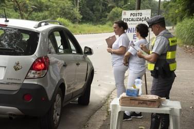 Cidades do litoral norte e Serra da Mantiqueira terão barreiras sanitárias