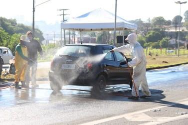 Mais de 4 mil veículos são parados em barreira sanitária em Bragança Paulista