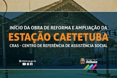 Reforma e ampliação da Estação Caetetuba e novo CRAS começam a se concretizar