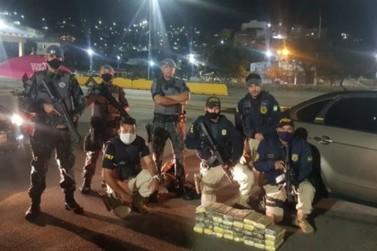 Região: PRF e PMESP prendem pai e filho por tráfico de drogas na Fernão Dias