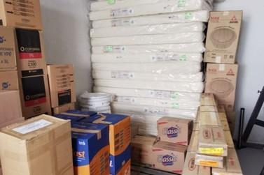 Atibaia é uma das primeiras a receber mobiliário para alojamentos emergenciais