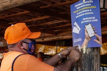 Falta de máscara pode ocasionar multa de R$500 a mais de R$5.000